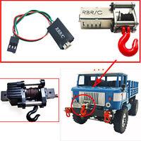 für 1/12 1/16 WPL MN RC 4 Kanäle Wireless Remote Controller Empfänger & Winde