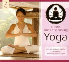 YOGA  - 2 CD - FITNESS UND ENTSPANNUNG inkl.20-seitigem Booklet