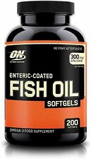 Optimum Nutrition Fish Oil - 200 softgels - Best quality & price!