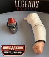 Marvel Legends KINGPIN BAF Left Arm & SHADOW KING head Professor X -SHIPS FAST!