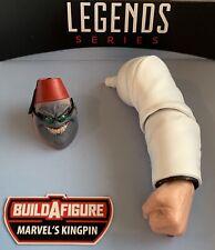Marvel Legends KINGPIN BAF Left Arm & SHADOW KING head from Professor X