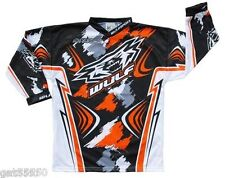 New 3-4 Years Wulfsport Kids Shirt Motocross Quad Orange Ktm Wulf Youth Jersey