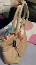 MIMCO Splendiosa Baby Bag Pancake Rose Gold Pink RRP$299 Nappy Travel Gym Lucid