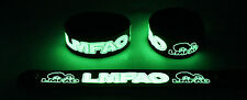 LMFAO  Glow in the Dark Rubber Bracelet Wristband Sorry for Party Rocking gg126