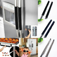 A Pair Fridge Handle Covers Kitchen Appliance Refrigerator Cloth Handle Covers