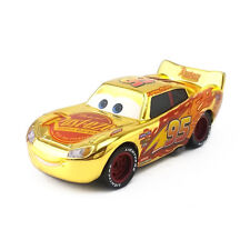 Mattel Disney Pixar Cars 3 Gold Rust-eze Lightning Mcqueen Toy Car Diecast 1:55