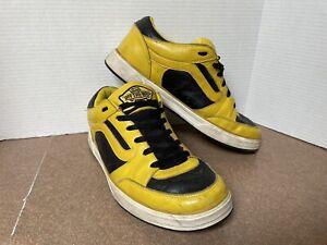Vintage Vans TNT Tony Trujillo Yellow Black 2000's Sneaker Shoe 11.5