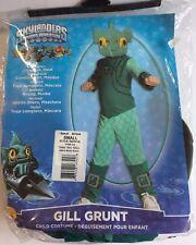 Skylanders Spyro's Adventure Gill Grunt Halloween Costume Children's Size S NEW