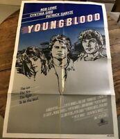 Youngblood 1986 Original Movie Poster Drama Romance Sport