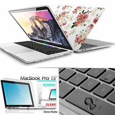 3 in 1 Slim Light Weight Macbook Pro 13 15 iTouch Matte Case For Women Girls CA