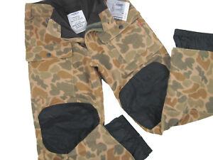 NEW $190 Burton Mens Heritage Field Snowboard Pants! S  Duck Hunter Camo *Heavy*