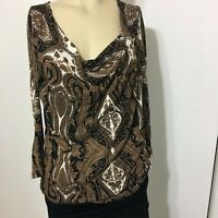 Michael Kors Women's Blouse Size P/M 3/4 Sleeve