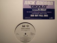 """NICK CANNON + R. KELLY - GIGOLO (12"""")  2003!!!  RARE!!!"""