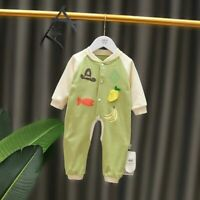 Newborn Baby  Infant Boy Girl Cute Cotton Bodysuit Romper Jumpsuit Clothes Set