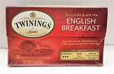 Twinings of London English Breakfast Black Tea Bags 1.41 oz