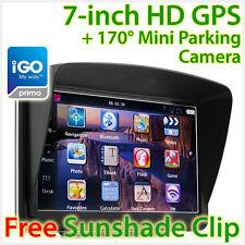 """NEW 7"""" GPS Car Navigation Sat Nav Reversing Camera Navigator iGO Primo Navi TU"""