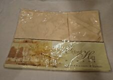 Oxford Hill Damask Set of 4 Placemats and Napkins Set by Brownstone Gallery