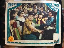 Night At The Opera 1935 MGM Spanish comedy lobby card Harpo Marx