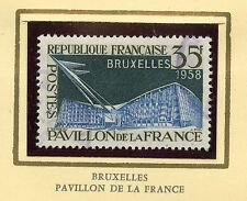 STAMP / TIMBRE FRANCE OBLITERE N° 1156  EXPOSITION DE BRUXELLES