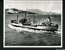 WWII US Navy Fleet Oiler Ship USS AO 36 Kennebec Official Photo 8x10