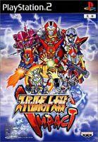 USED PS2 PlayStation 2 Super Robot Wars IMPACT 34959 JAPAN IMPORT