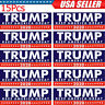 15x Donald Trump For President 2020 Bumper Sticker Keep Make America Great Decal