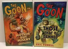 THE GOON Eric Powell (NOTHIN BUT MISERY》 Those That Is Damned) (Lot of 2)