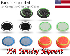 2x Controller Grips Thumb Stick Cap Cover For Xbox One, PS4, Xbox 360 & PS3