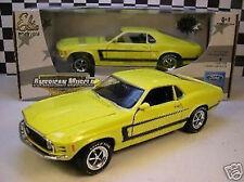 1:18 Ertl - 1970 Ford Mustang grapper AMARILLO
