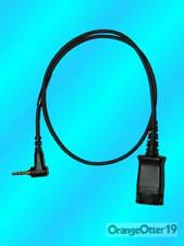 Plantronics 2.5mm to QD cable P/N 64279-02 for Cisco SpectraLink & Linksys QTY
