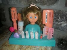 Vintage Salon Doll Beauty Salon Set 1960's Hong Kong Mid Century Redbox