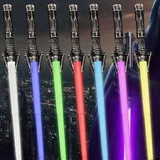 Lot von 2 Star Wars FX Sound Lichtschwert Teleskopschwert Cosplay Waffe Spielzeu