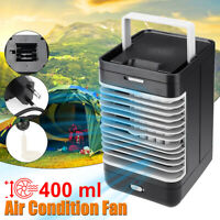 Portable Cooling Air Conditioner Fan Humidifier Bedroom Artic Cooler Desk Fan