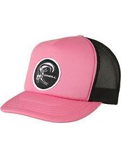 ONeill Bm Trucker Cap in Shocking Pink