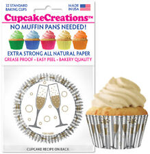 """9136 - """"Cheers"""" Cupcake Creations, No Muffin Pan Required Baking Cups"""
