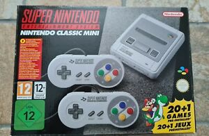 SNES Classic Mini, 1x GESPIELT *NEUWERTIG * Super Nintendo * OVP * 2 CONTROLLER*