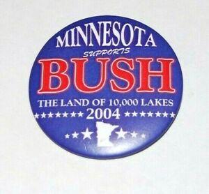 2004 MINNESOTA FOR GEORGE W. BUSH campaign pin pinback button political presiden