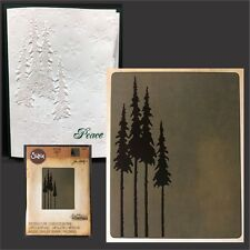 Sizzix embossing folders - Tall Pines folder Tim Holtz 661407 Trees,christmas