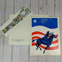 Sealed 1973 Mint Set Commemorative USPS Souvenir Yearbook Album with Stamps