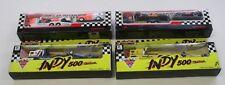 1990 MATCHBOX RACE CAR TRASPORTER INDY 500, PENNZOIL #2, VALVOLINE #5, .........