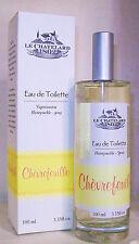 """Eau de toilette, made in France, CHÈVREFEUILLE, """"le chatelard 1802"""", 100 ml."""