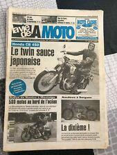 LA VIE DE LA MOTO N°187 de 1996 - HONDA CB 450, ANCETRES, RALLYE NANTES - Cb11
