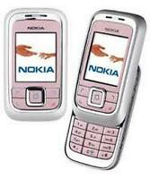 PINK NOKIA 6111 CHEAP SLIDE MOBILE PHONE -UNLOCKED WITH NEW CHARGAR AND WARRANTY