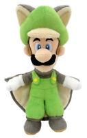 Super Mario Bros Musasabi Flying Squirrel Luigi Plush Toy Stuffed Doll US SELL