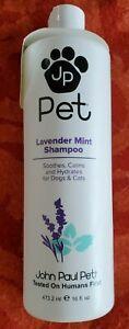 John Paul Pet Lavendel Minze Shampoo für Hunde und Katzen 473ml