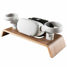 Wood Organizer Stand for Oculus Rift, Rift S and Quest