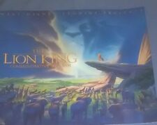 WALT DISNEY-THE LION KING COMMEMORATIVE PROGRAM WITH 2 SERICELS& CERTIFICATE1994