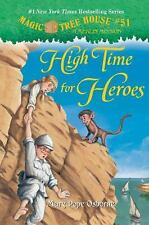 A Stepping Stone Book Series: High Time for Heroes Bk. 51 by Mary Pope...