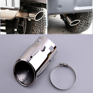 1x Tail Exhaust Pipe Tip Fit For Jeep Wrangler JK JL 2007-2020 Compass 2017-2020