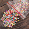 1000pcs Nail Art 3D Fruit Flower Fimo Slice Clay DIY Tips Sticker Decoration NEW